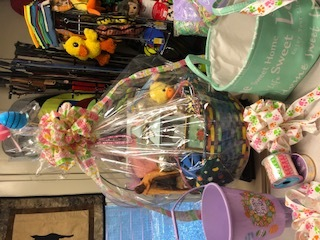 MULTI COLOR EASTER BASKET ASSORTMENT