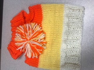 HALLOWEEN CANDY CORN SNOOD